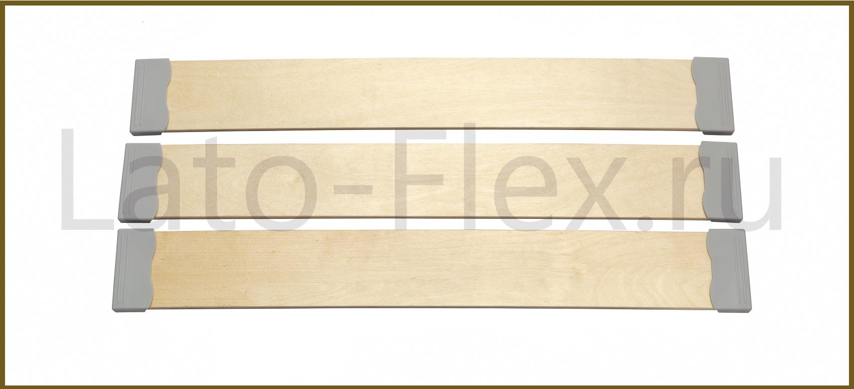 Ламели для кровати широкие 83*8*590-1325 мм | Часто используютя в диванах