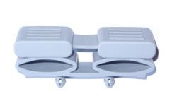 Латодержатель двойной с амортизатором 38 мм