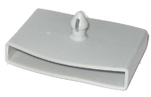 Латодержатель центральный 50-53 мм, 1 штырек