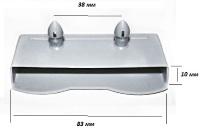 Латодержатель накладной 83 мм, с двумя штырьками