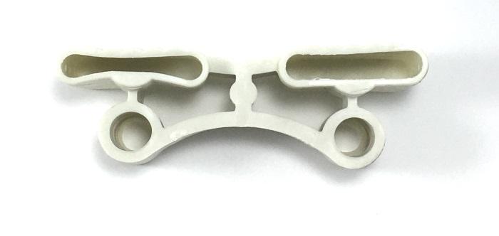 Латодержатель каучуковый двойной с двумя отверстиями